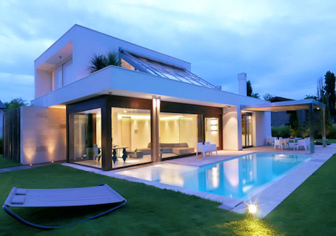 Abbiamo scelto l 39 architetto la casa ecologica for Piccoli progetti di casa contemporanea