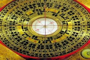 Bussola per la rilevazione e lo studio Feng Shui orientale
