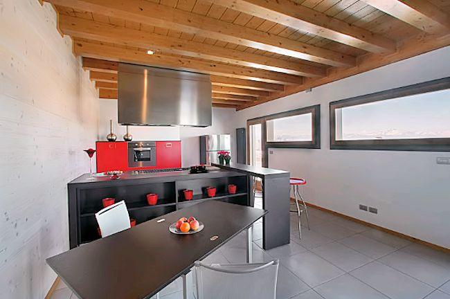 Case in bioedilizia si ma a km 0 la casa ecologica for Case moderne interni cucine