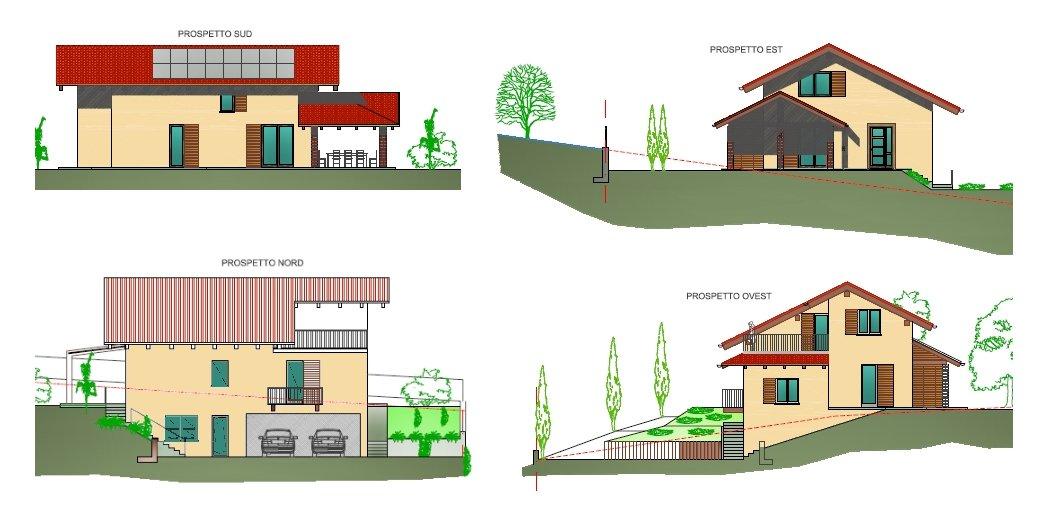La scelta di realizzare casa la casa ecologica for Prospetti di case moderne