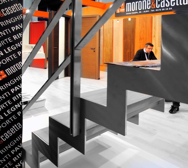 Scale_moderne_legno_acciaio_eco