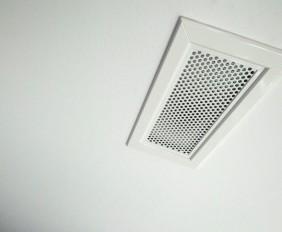Bocchette della ventilazione meccanica controllata o VMC