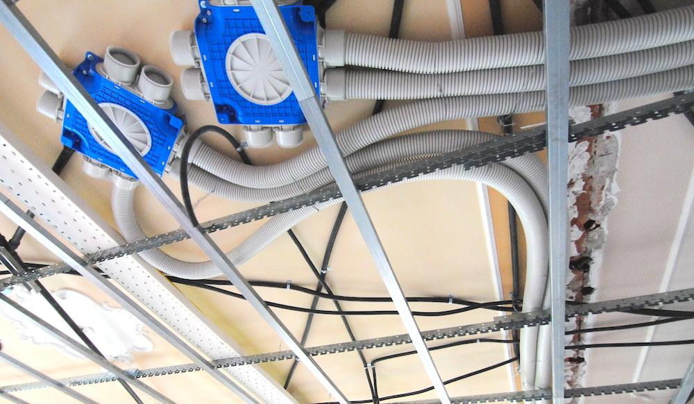 Realizzazione impianto di vevntilazione meccanica per casa appartamento in fase di riqualificazione energetica