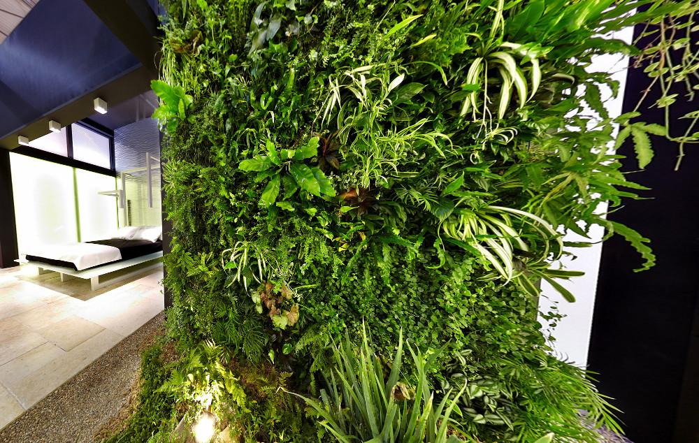 Ben noto Giardini interni e pareti in verde verticale XK71