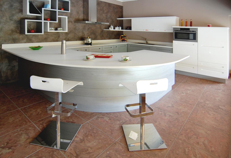 Cucina moderna villosio matthew grandacasa - Illuminazione cucina moderna ...