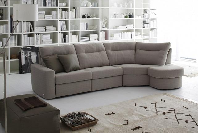 Doimo divani tessuto antimacchia divano modello slide della doimo
