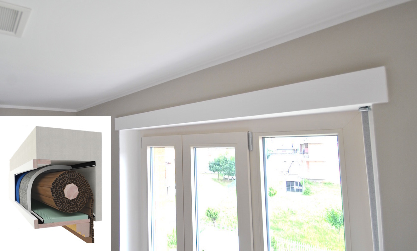 Isolamento cassonetti avvolgibili grandacasa - Rivestire i davanzali delle finestre ...