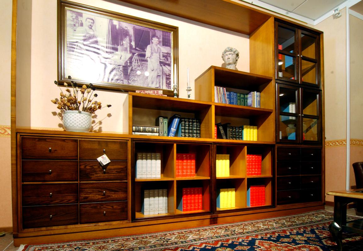 Soluzioni salotto studio consigli per la casa e l for Libreria salotto