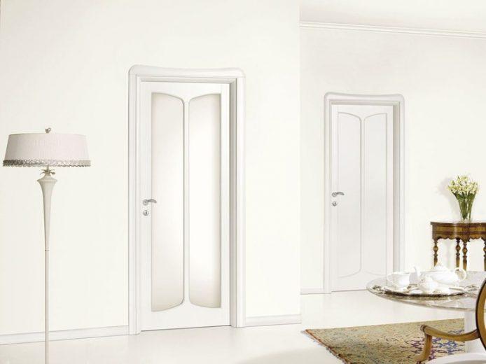 Porte interne bianche moderne good porte interne bianche - Laccatura porte interne ...
