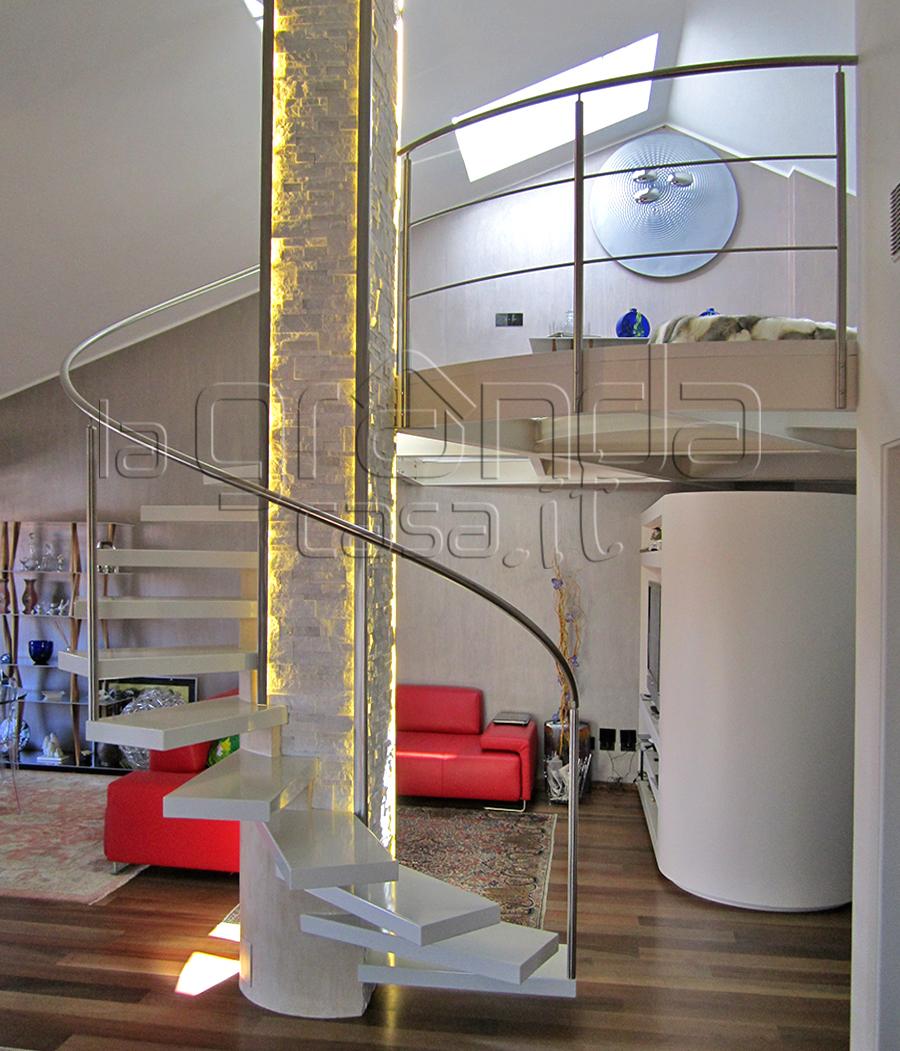 Scale A Chiocciola Moderne scale in cuneo e provincia - produzione e vendita   grandacasa