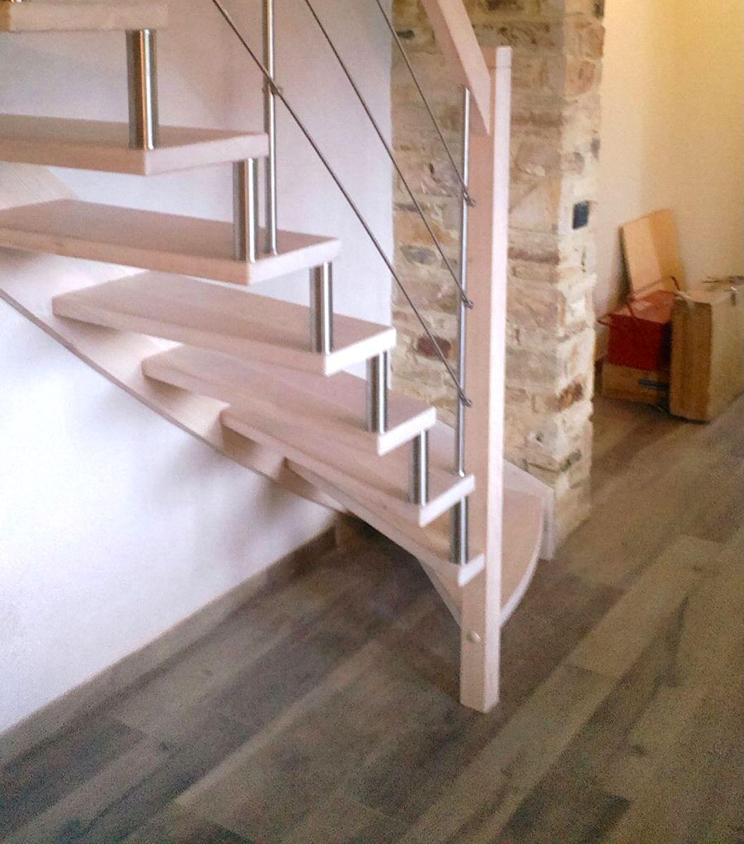 Scale in legno artigianali grandacasa - Scale autoportanti in legno ...