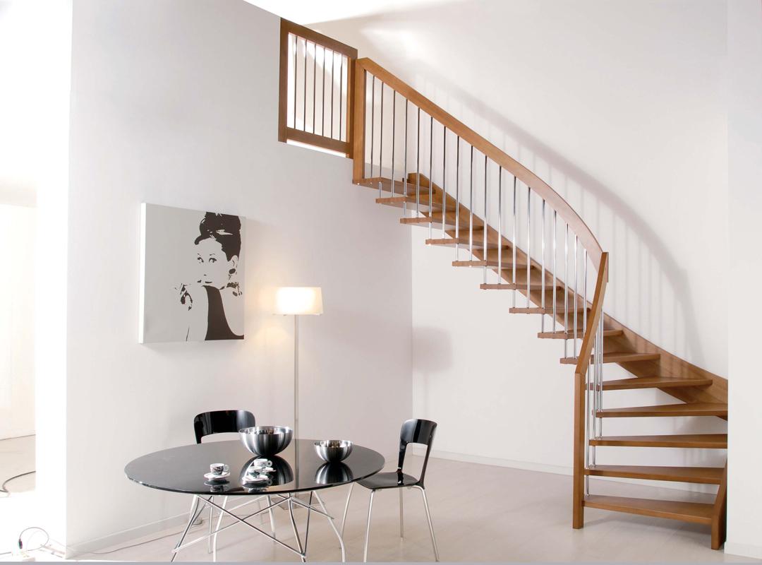 Scale in legno artigianali grandacasa - Scale interne in legno moderne ...