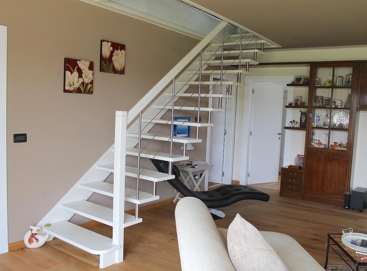 Scale in legno minimali grandacasa - Legno per scale ...