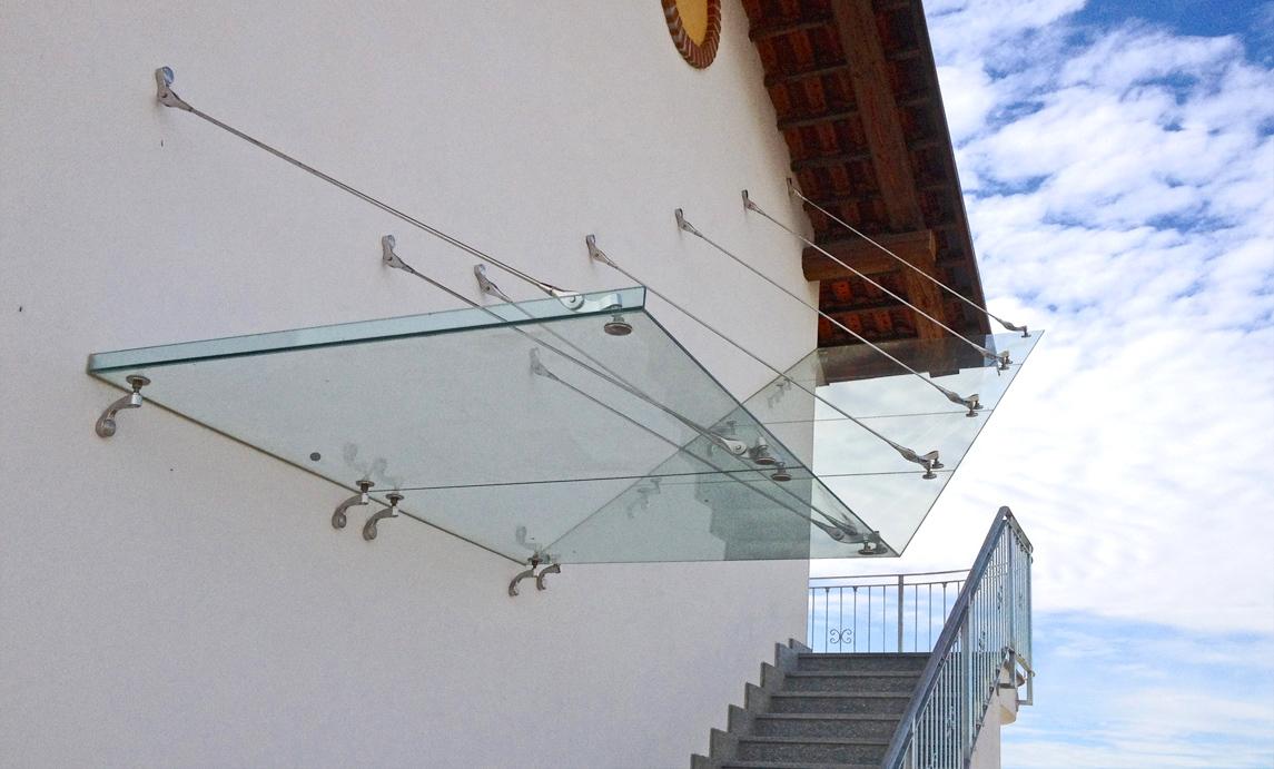 Pensiline vetro grandacasa for Architecture minimale