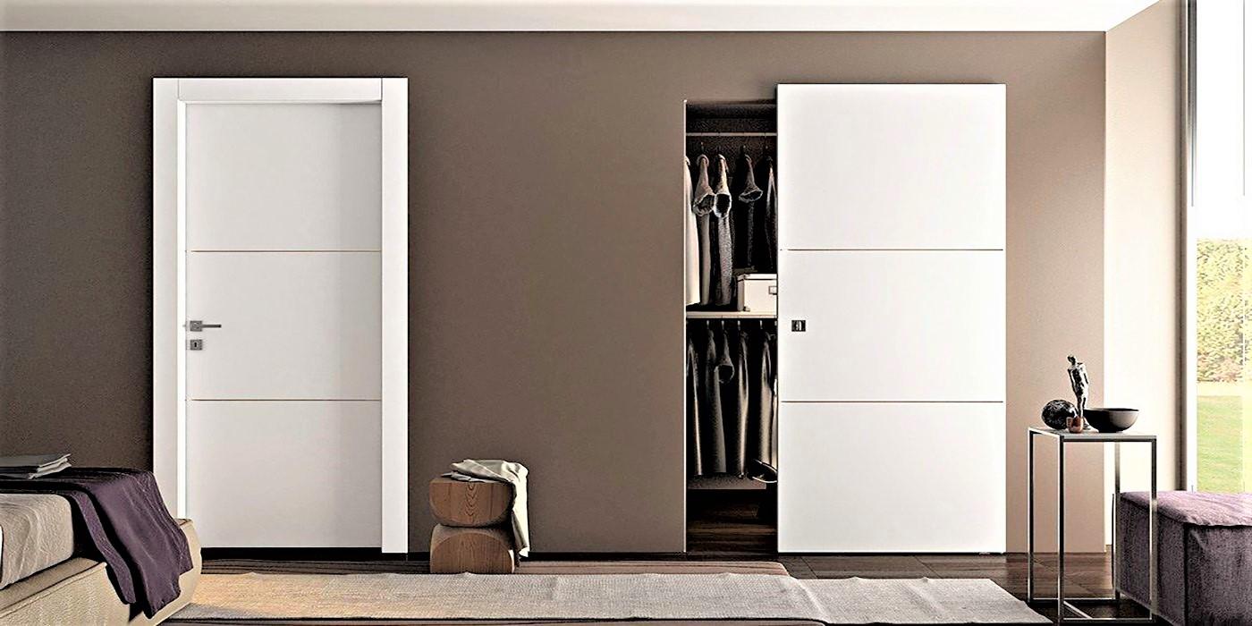 Porte pantografate grandacasa for Porte bianche moderne