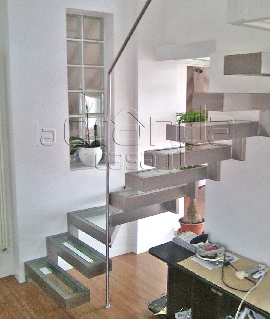 Foto Scale Interne Moderne scale in cuneo e provincia - produzione e vendita | grandacasa